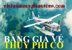 Giá vé thủy phi cơ Hải Âu ngắm cảnh Hạ Long, Quảng Ninh