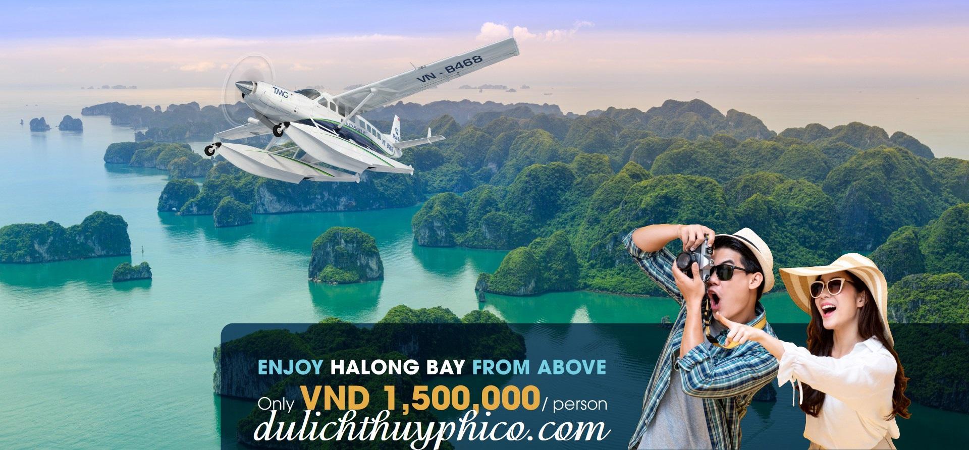 Tour Thủy Phi Cơ ngắm cảnh Hạ Long hàng tuần